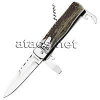 Нож выкидной GW 8042 (рукоять - рог оленя)