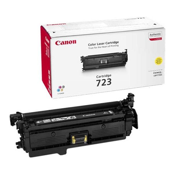 Заправка Canon 723 yellow