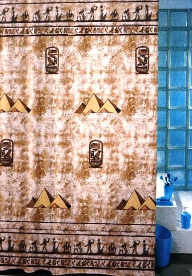 Шторка для ванной «Пирамида»