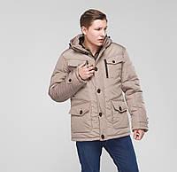 """Классическая зимняя куртка """"Daniel"""" бежевый"""