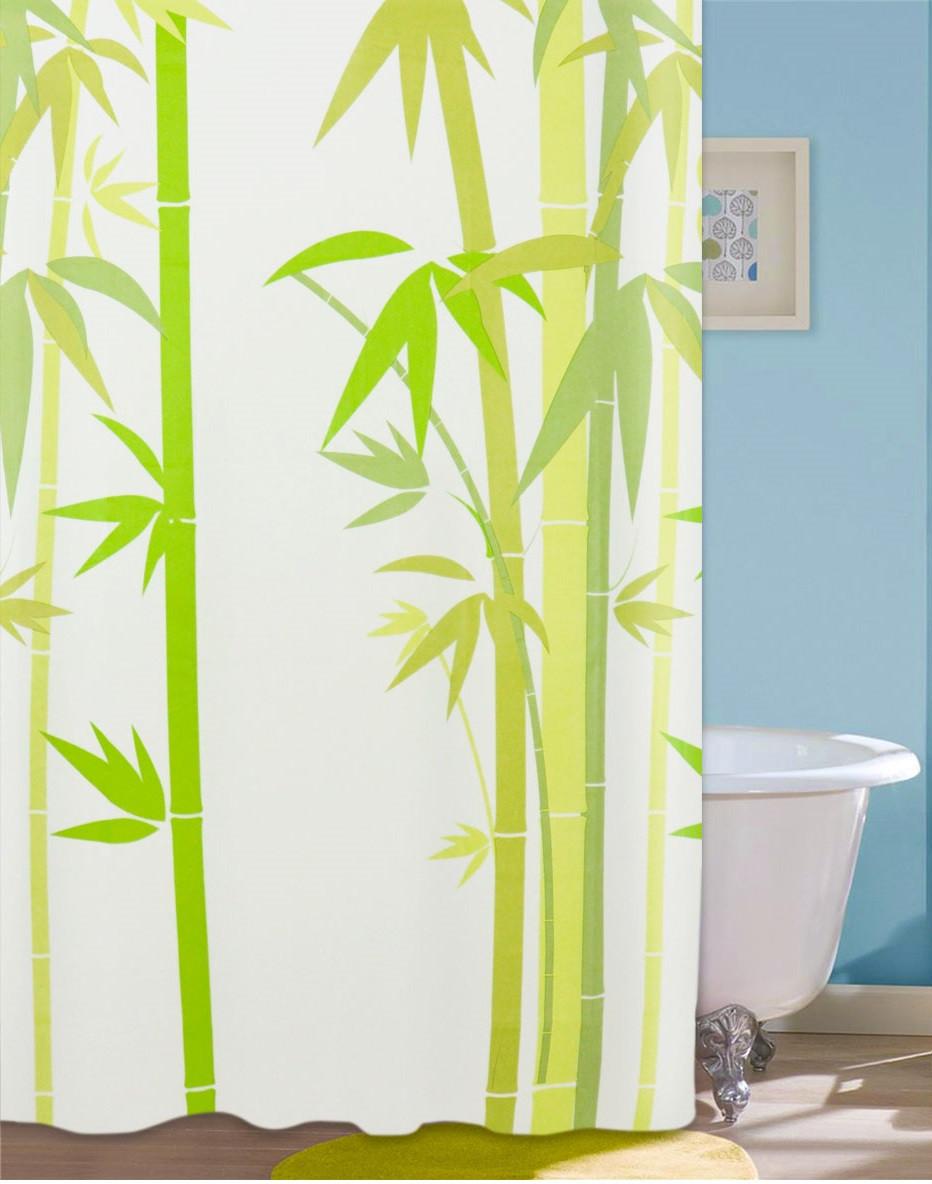 Шторка для душа Green Bamboo