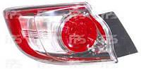 Фонарь задний для Mazda 3 хетчбек 09-13 левый (DEPO) внешний