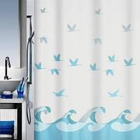 Шторка для ванной текстильная SPIRELLA CRANE
