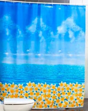 Шторка для ванной Ocean fresh