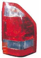 Фонарь задний для Mitsubishi Pajero Wagon 3 03-07 правый (DEPO) светло-красный, на крыле
