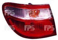 Фонарь задний для Nissan Almera седан (N1, N17) 00-06 левый (DEPO) внешний