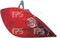 Фонарь задний для Nissan Tiida хетчбек 05- левый (DEPO) азиатская версия