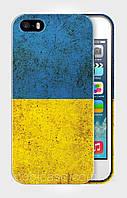 "Чехол для для iPhone 4/4s""FLAG UKRAINE""."