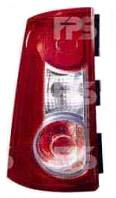 Фонарь задний для Renault Logan MCV 09-12 левый (DEPO)