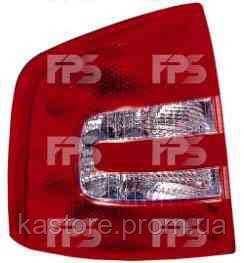 Фонарь задний для Skoda Octavia A5 универсал 05-09, левый (DEPO)