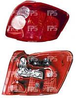 Ліхтар задній для Toyota Auris 07-09 лівий (DEPO) тип Farba