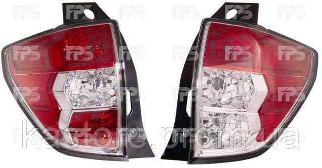 Фонарь задний для Subaru Forester 08-12 левый (DEPO)