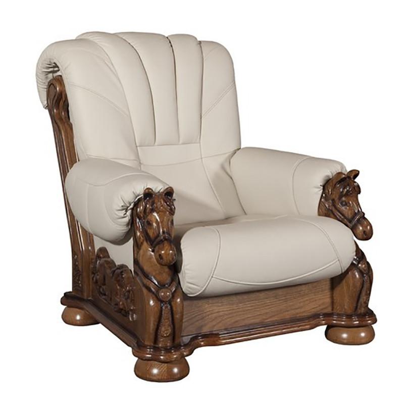 Крісло з різьбленням Mustang