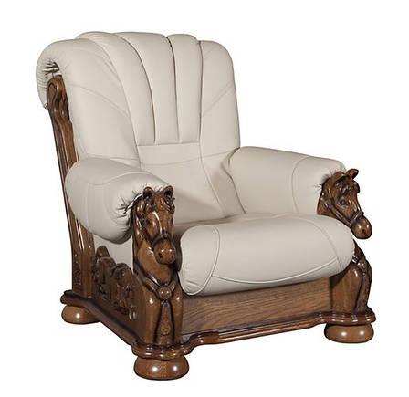 Крісло з різьбленням Mustang, фото 2