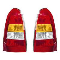Фонарь задний для Renault Sandero 13- (кроме Stepway) правый, светлый (DEPO)