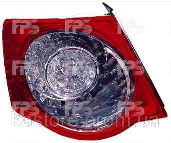 Фонарь задний для Volkswagen Jetta V 06-10 левый (DEPO) внешний LED