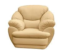 """Мягкое кожаное кресло """"Империал"""" (120 см)"""