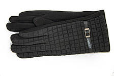 Женские стрейчевые перчатки Универсальные Черные, фото 2