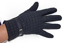 Женские стрейчевые перчатки Универсальные Черные, фото 3