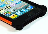 Противоударный чехол бампер Splint для Apple iPod 4 Touch (A1367) - Orange, фото 4