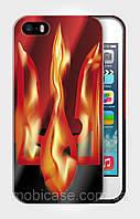 """Чехол для для iPhone 4/4s""""EMBLEM of UKRAINE 2""""."""
