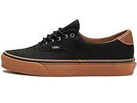 Мужские кеды Vans Era 59 C&L Black/Braun