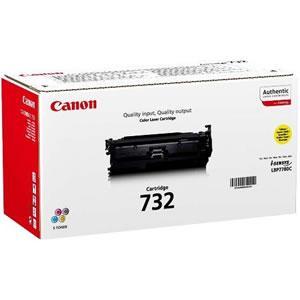 Заправка Canon 732 yellow