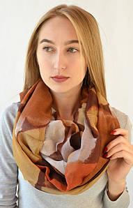 Снуд Анжела коричневый