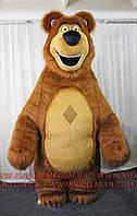 Надувной ростовой костюм - гигант Машин Медведь