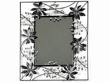Зеркало Зеркало прямоугольное Рамка Металл  Листья 60.0 x 49.0 x 2.0 см