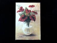 Картина Антуриум 11.0 x 17.0 x 1.0 см