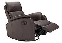 Кожаное кресло с реклайнером MAGNUM (80 см)