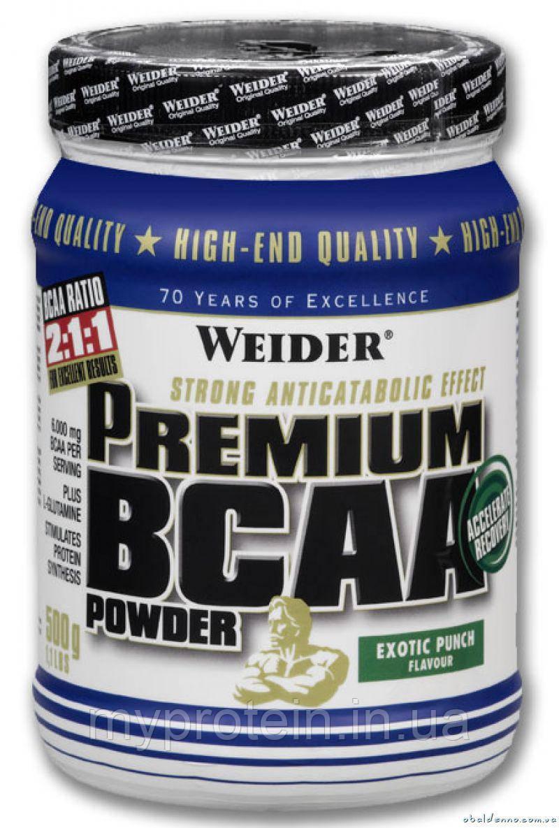 Weider BCAA Premium BCAA powder 500 g