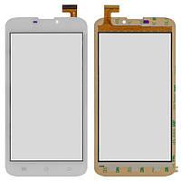 """Сенсорный экран (touchscreen) для Supra M621G, 6.0"""", 165-85 мм, 30 pin, емкостный, белый, оригинал"""