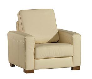 Современное кожаное кресло VEGAS (84 см), фото 2
