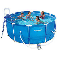 Круглый каркасный бассейн Bestway 366х122 см (56088)