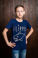 Красивая детская футболка на мальчика  (Х.А.Р.Т.)