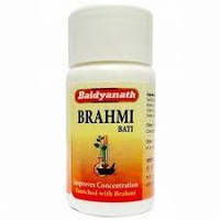 Брами Вати Бадьянатх ( Brahmi Vati Baidyanath ) мозговой тоник, 80 таблеток