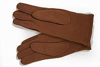 Женские стрейчевые перчатки Цветные Рыжий МАЛЕНЬКИЕ, фото 1