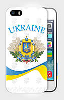"Чехол для для iPhone 4/4s""EMBLEM of UKRAINE 4""."