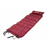 Cамонадувающийся коврик KingCamp Base Camp XL (KM3559) Wine red