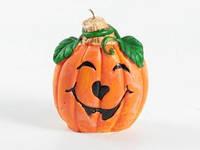 Свеча Тыква-Хэлоуин / Оранж / 10 см
