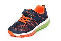 Кроссовки для мальчиков.D.Blue/orange.31-36