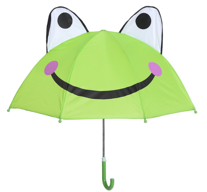 "Детский зонтик 3D ушки ""Лягушка"""