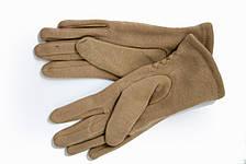 Женские стрейчевые перчатки Цветные Бежевый, фото 2