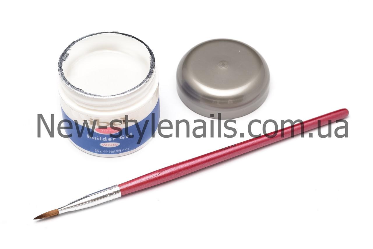 Гель для наращивания ногтей, IBD белый, 56 ГР.