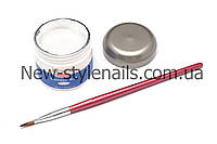 Гель для наращивания ногтей, IBD белый, 56 ГР., фото 1