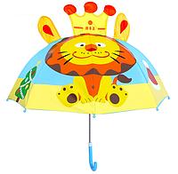 "Детский зонтик 3D ушки ""Лев"""