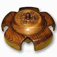 Пепельница резная сувенирная, фото 1