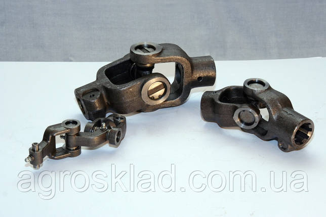 Шарнир кардана (Гука) 6 шлицов х 6 шлицов, фото 2